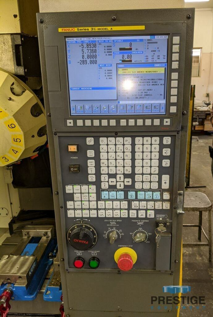 FANUC Robodrill Alpha T14iFe 4-Axis CNC Drilling and Tapping Center-31111g