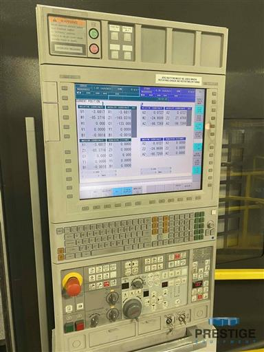 Mori Seiki NZL-6000BY/4000 CNC Turning Center With Live Milling-31218j
