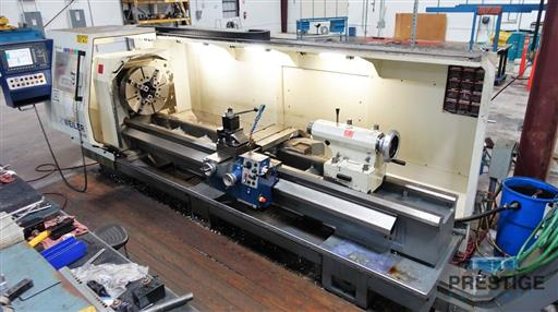 Weiler E70x3000 CNC Hollow Spindle Flat Bed Lathe