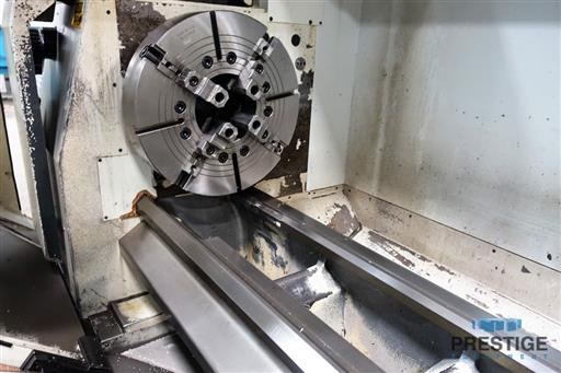 Weiler E70x3000 CNC Hollow Spindle Flat Bed Lathe-31262b