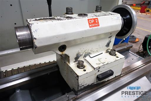 Weiler E70x3000 CNC Hollow Spindle Flat Bed Lathe-31262f