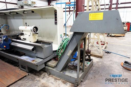 Weiler E70x3000 CNC Hollow Spindle Flat Bed Lathe-31262g