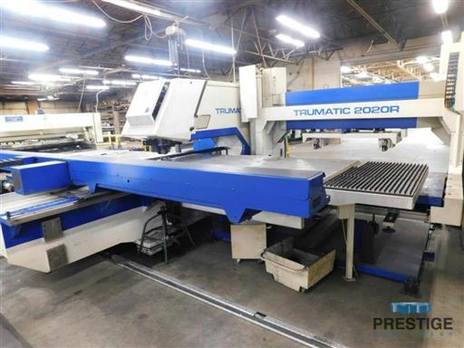 Trumpf-TC-2020R-22-Ton-CNC-Punch-w-Load-Unload-System