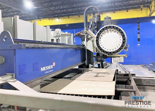 Messer TMC4512  Plate Cutting System, (2) Gantry's On Shared Slagger Table-31365h