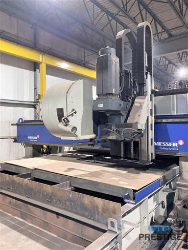Messer TMC4512  Plate Cutting System, (2) Gantry's On Shared Slagger Table-31365i