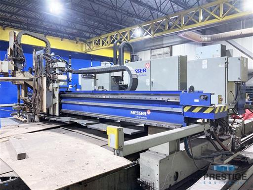 Messer TMC4512  Plate Cutting System, (2) Gantry's On Shared Slagger Table-31365m