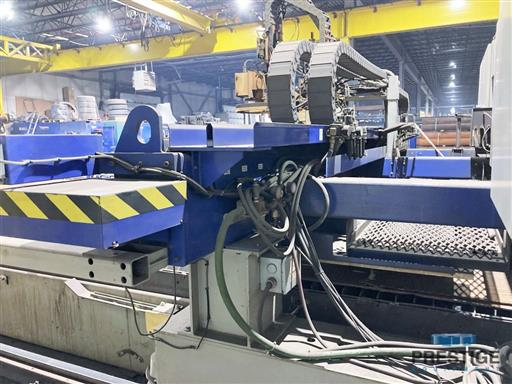 Messer TMC4512  Plate Cutting System, (2) Gantry's On Shared Slagger Table-31365n
