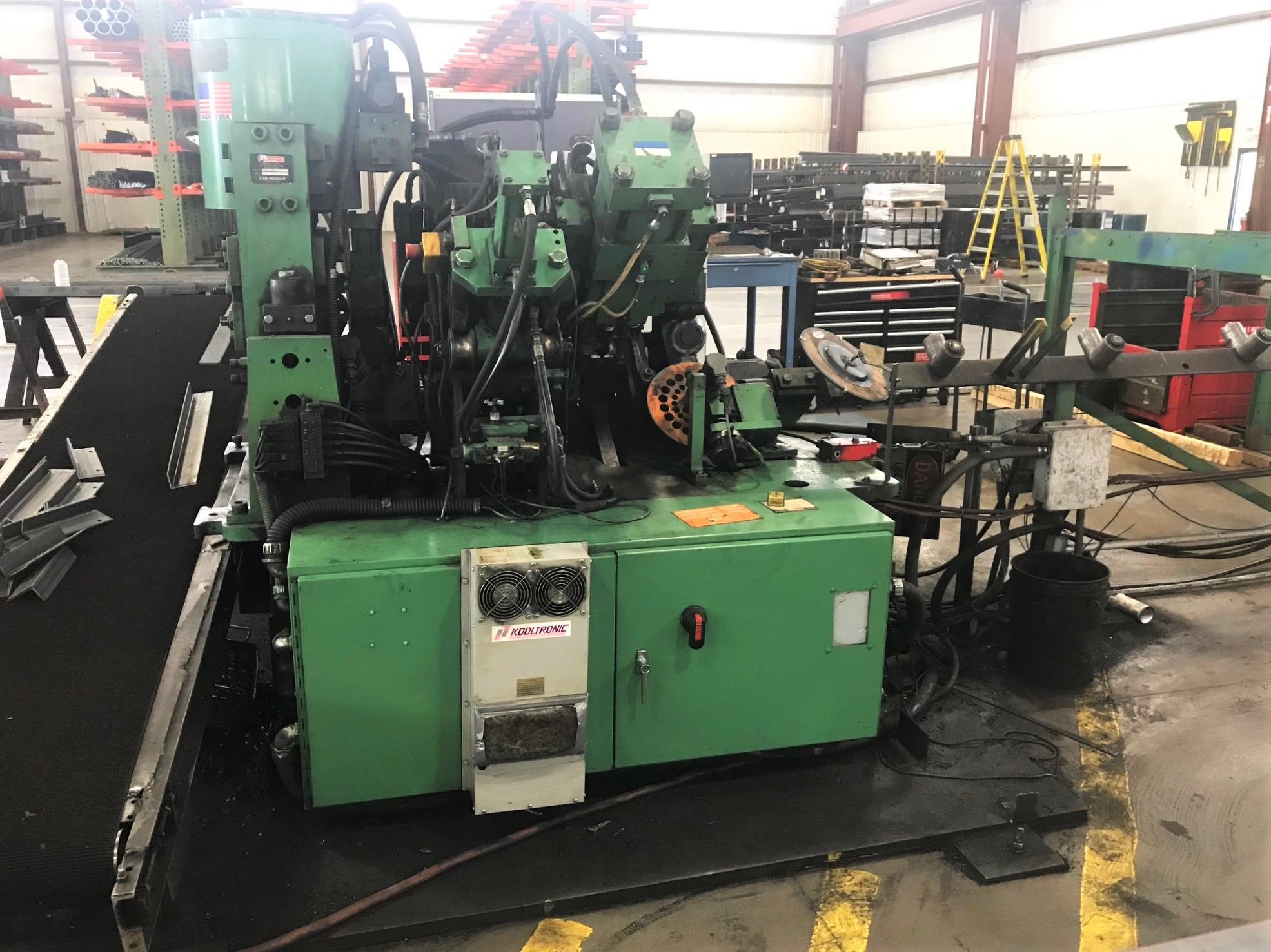 Punch and Shear Line